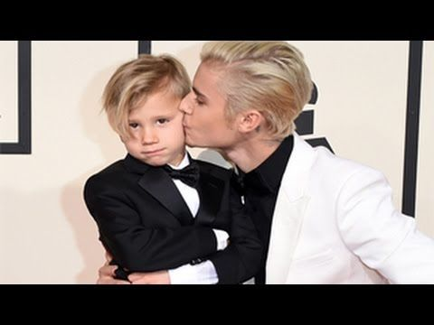 Grammy Awards 2016 - Justin Bieber & Little Brother Jaxon Bieber Rocked ...