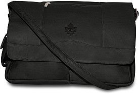 Pangea Toronto Maple Leafs Premium Leather Satchel - Shop.Canada.NHL.com