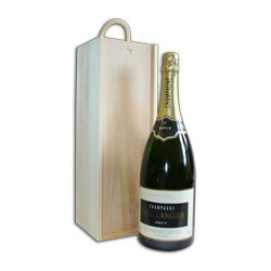 Magnum Champagne Gift Set with Pinewood Box