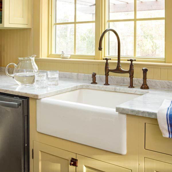 Kitchen Sink With Backsplash: 1000+ Images About A Small Elegant Kitchen On Pinterest