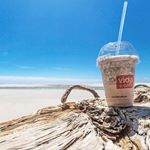 Living like a beach bum today? You will need our choc frio to fit the image! #vidaecaffe