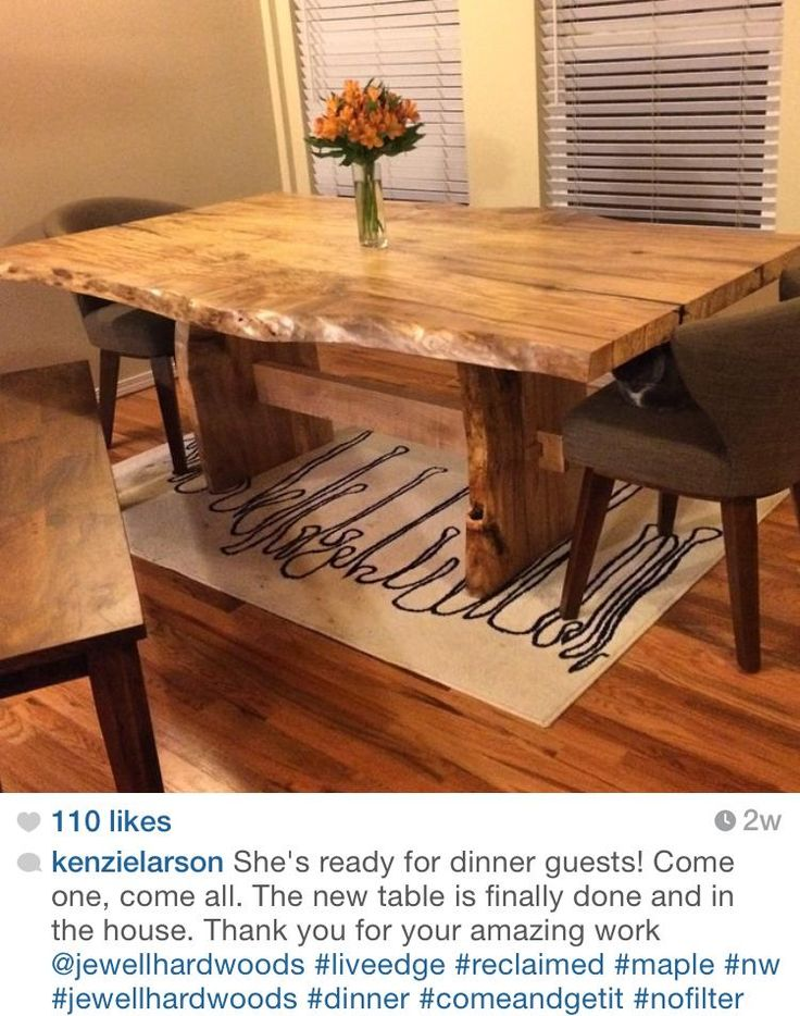 12 Best Curly Maple Images On Pinterest  Woodworking Woodworking Magnificent Maple Dining Room Table Design Inspiration