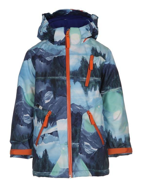 www.aatio.fi, Aati O, lastenvaatteet, Molo Kids, Alpine jacket Winter Landscape