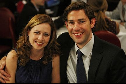 Pam and Jim - BEST COUPLE EVER!: Cutest Couple, Halpert Th Offices, Favourit Couple, Beesli Jim, The Offices, Offices Pam, Fav Tv, Tv Couple, Tv Movie Couple