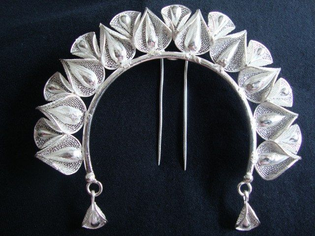 Silver Filigree Odissi Dance Ornaments available at Craftsvilla for Rs.3750