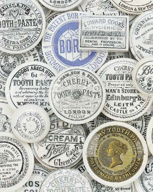 Typeverything.com @typeverything -  Antique lids. More here.  ViaLetterology
