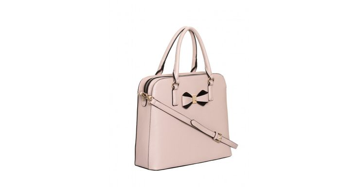 Review Australia - Lady Bow Bag Nude