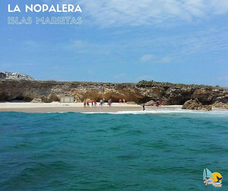 Playa La Nopalera en las Islas Marietas - Puerto Vallarta - Riviera Nayarit