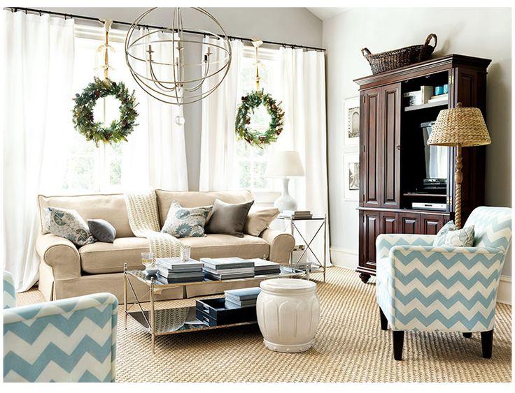 Renard Living Room  I  ballarddesigns.comDecor Ideas, Living Rooms, Living Room Colors, Chevron Pattern, Renard Living, Chevron Chairs, Livingroom, Living Room Furniture, Ballard Design