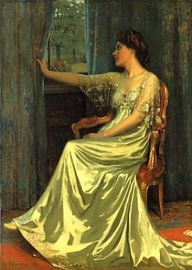 Dawn by Edmund Hodgson Smart 1907 wow, that lighting is amazing