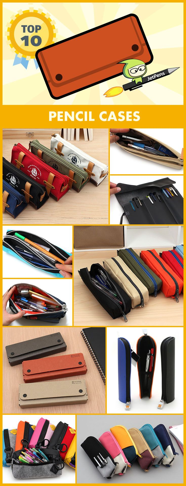 Our top-rated pencil cases can be used to store other baubles and bits!