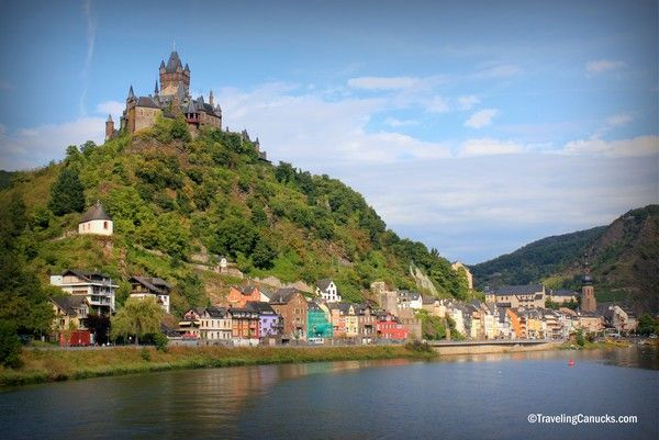 Cochem Castle, Mosel, Germany - http://travelingcanucks.com/2012/12/most-memorable-travel-experiences-of-2012/