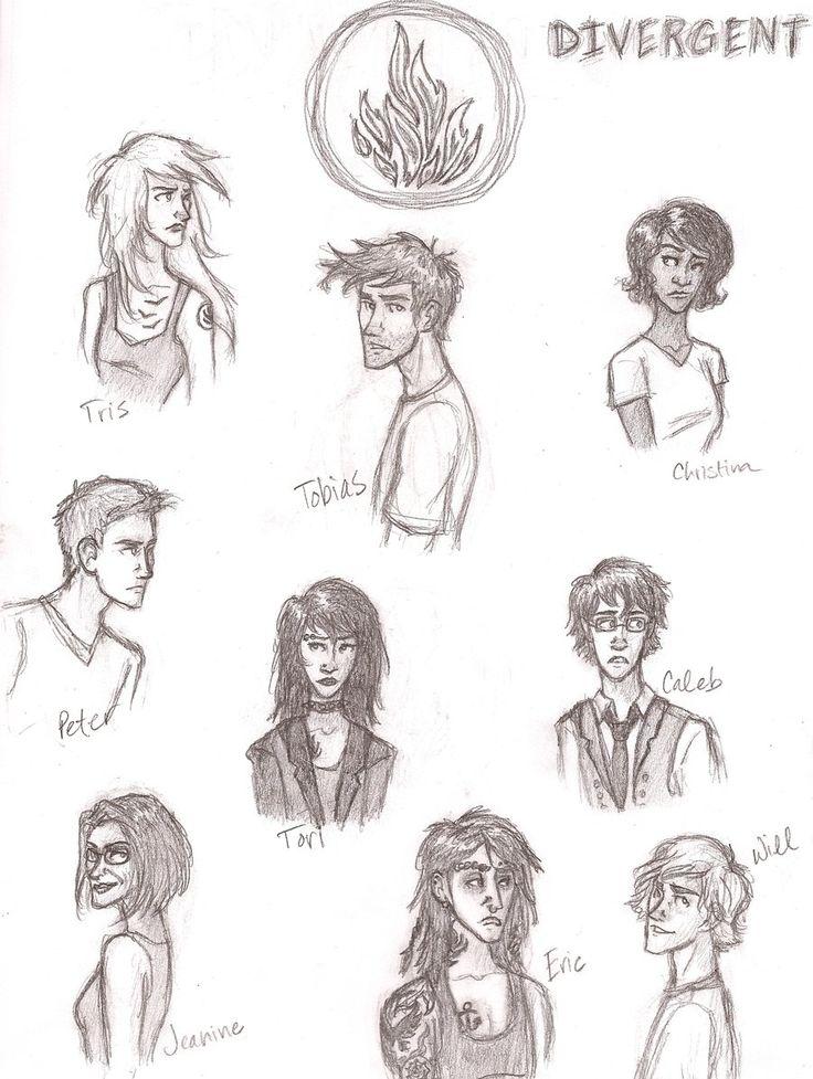 Divergent character sheet