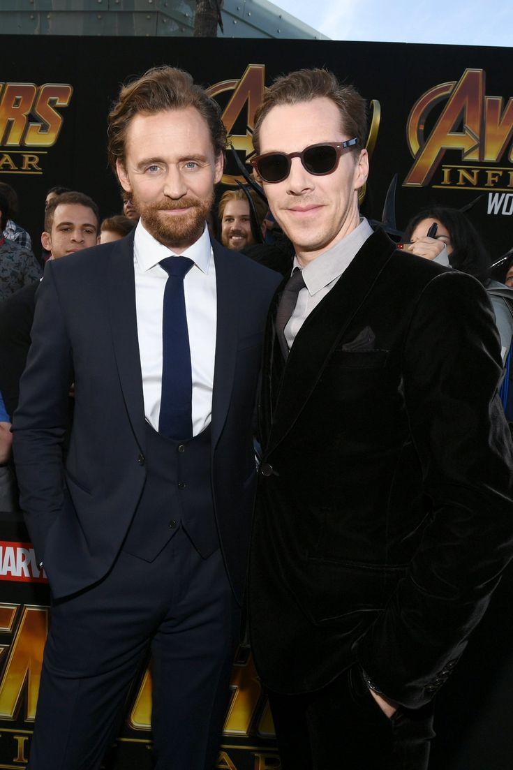 When Benedict Cumberbatch and Tom Hiddleston Get Together, They Have a Marvel-ous Time