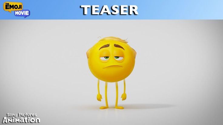 THE EMOJI MOVIE | Official Teaser Trailer | In theaters August 4, 2017<<why