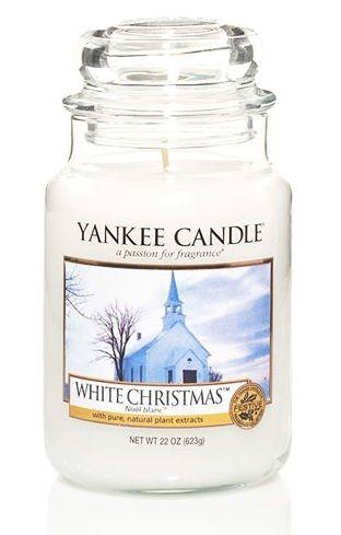 """Yankee Candle """"White Christmas"""", smells great #YankeeCandle #MyRelaxingRituals"""