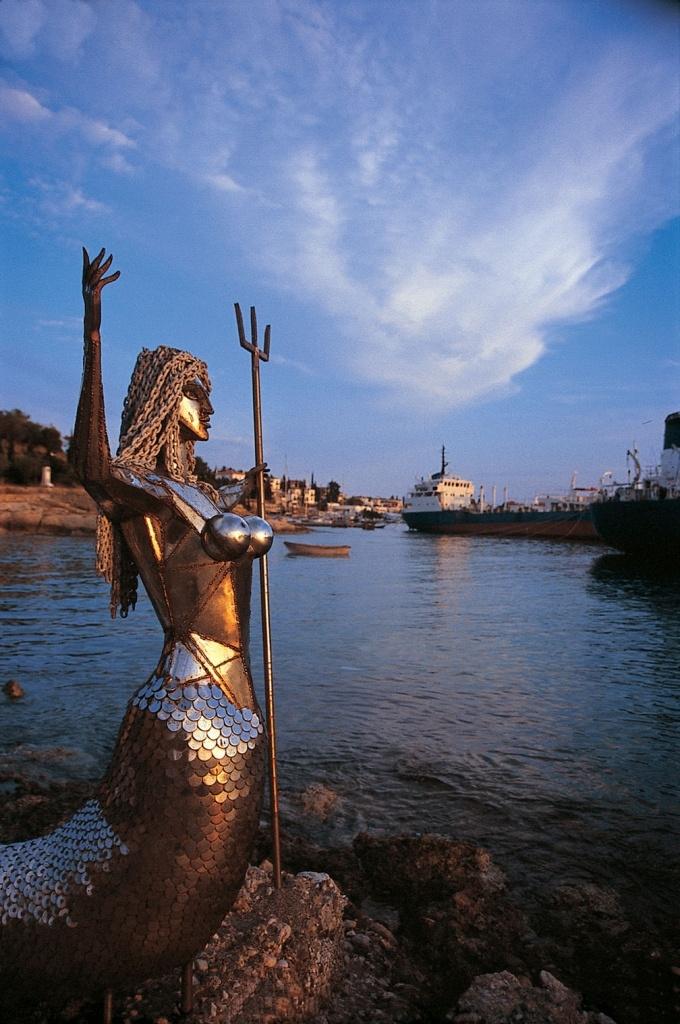 Τhe mermaid - Spetses Island