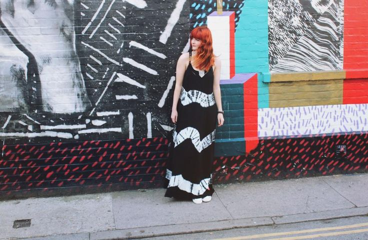 One of our fave bloggers Fox & Feather wearing our latest maxi dress!