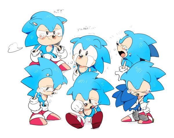 29 Best Images About Classic Sonic On Pinterest
