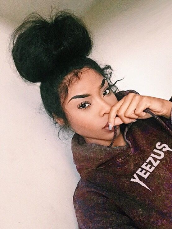 Lilshawtybad  Natural Hair Styles, Curly Hair Styles -2046