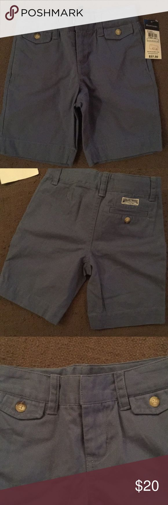 Ralph Lauren Girls Bermuda Shorts Size 5 Summer chic blue Bermuda shorts Ralph Lauren Bottoms Shorts