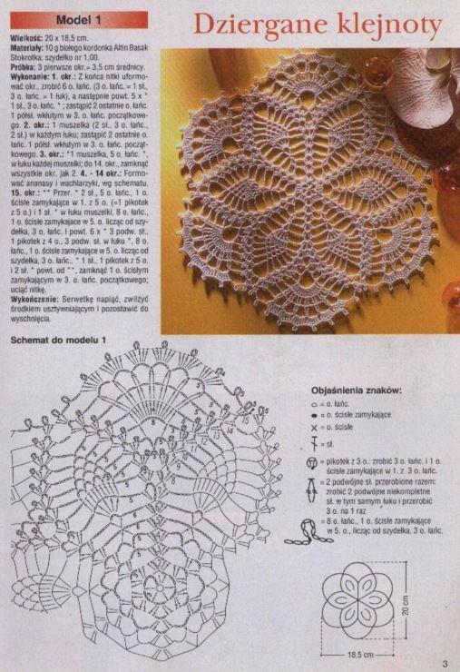 207 best Patrones De Ganchillo images on Pinterest   Crochet ...
