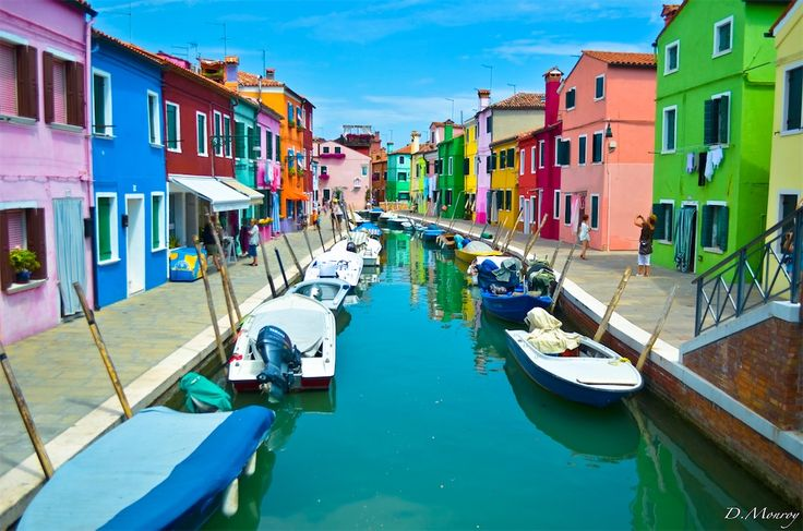 When cities are painted with eye-popping colors, it makes for a stunning visual treat. Here is a look at a few of the most colorful cities around the world!