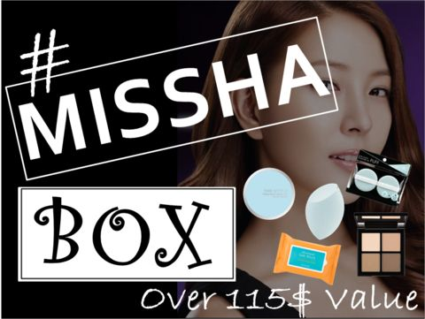 [38 BOX] MISSHA BOX (Over 115$ Value)