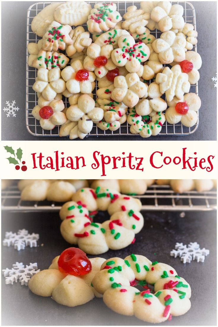 Pin By Life Made Sweeter On Cookies And Bars Spritz Cookies