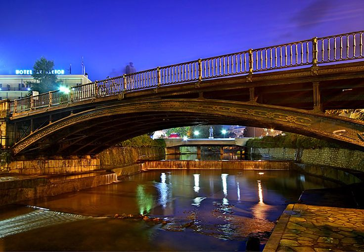 Central bridge of Trikala, Thessaly, Greece ✯ ωнιмѕу ѕαη∂у