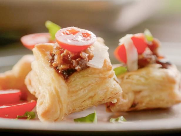 Get Flaky Bacon Bruschetta Recipe from Food Network