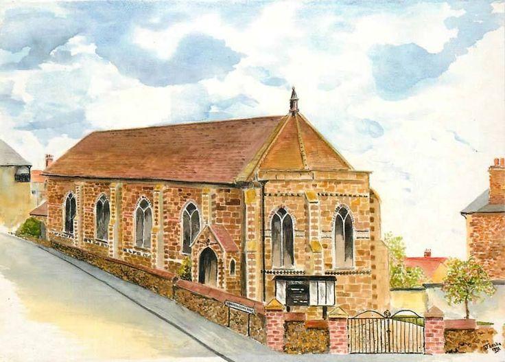 Postcard:- Hunstanton, Union Church | eBay | Birthplace - Hunstanton, England | Pinterest ...