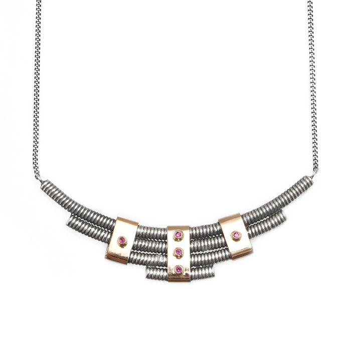 NINNA YORK Jewellery — Capstar Ruby Necklace