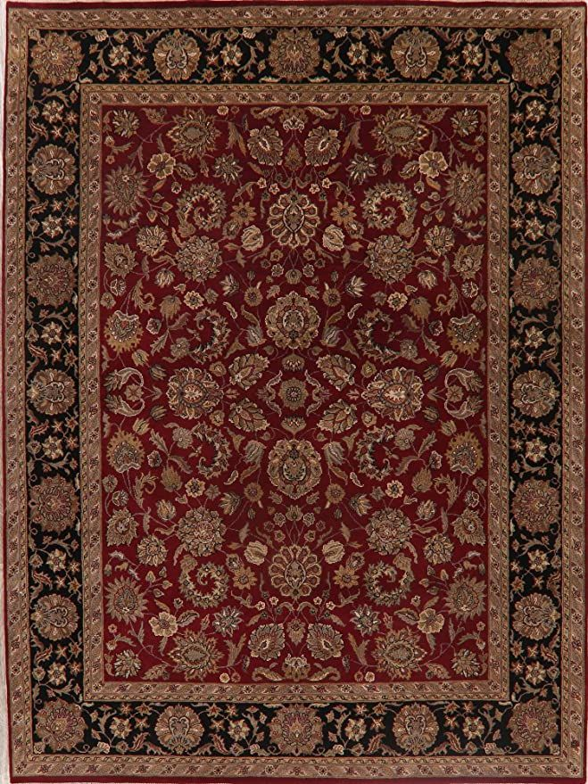 Floral Agra Oriental Living Room Area Rug Wool Handmade Traditional Carpet 9x12 9 0 X 12 1 In 2020 Area Room Rugs Wool Area Rugs Oriental Living Room