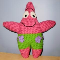 Free Crochet Pattern Patrick Star : Spongebob Patrick Free Amigurumi & Crochet Patterns ...