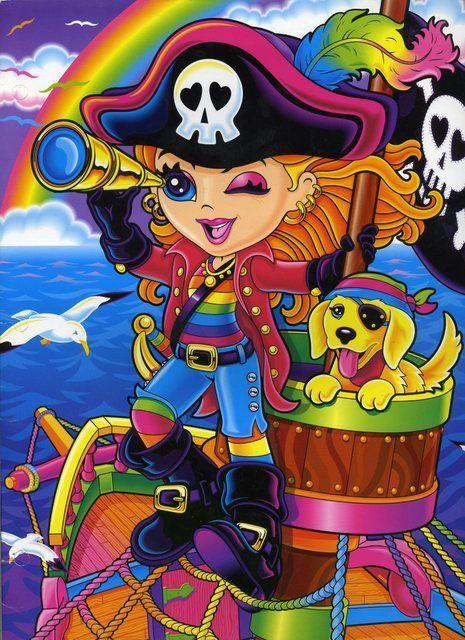 Lisa Frank Pirate Girl