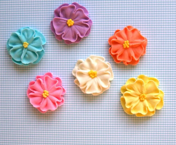 how to make sugar paste daisies