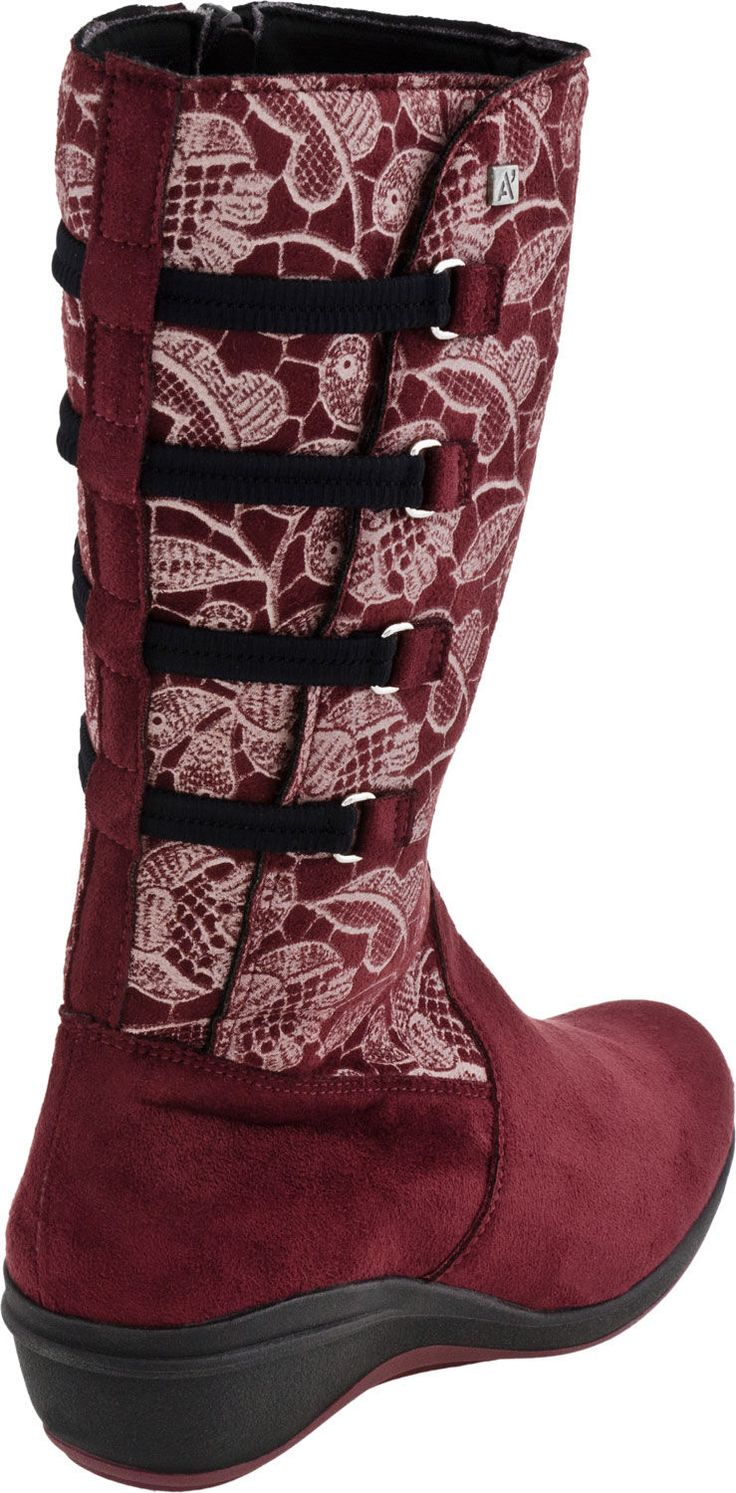 Buy the Arcopedico R66 boot at PlanetShoes.com. Arcopedico shoes exercises the foot, strengthen the muscles, assist the circulation of the blood and ensure more comfort in walking at PlanetShoes.com, your trusted source for feel-good footwear, with free shipping & returns! (Bordeaux Embossed)