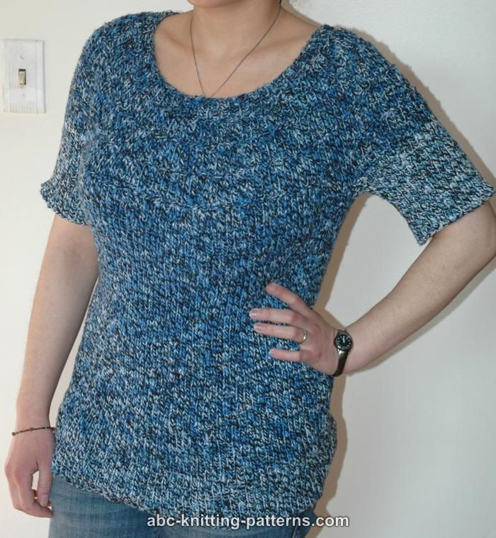 Summer Blouse Knitting Patterns : Best images about knit summer tops on pinterest lace