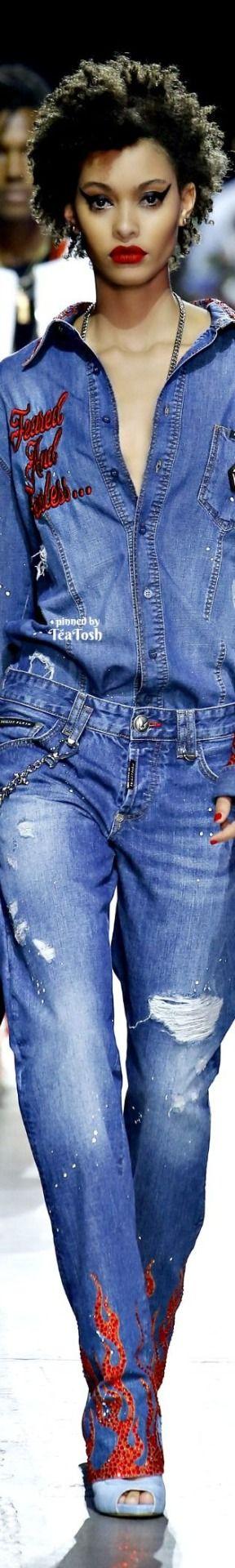 ❇Téa Tosh❇ Philipp Plein, Spring 2018, Menswear Collection