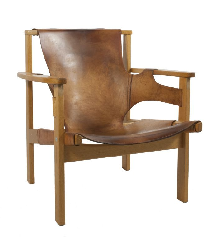 Leather Lounge Chair by Carl Axel Acking | From a unique collection of antique and modern lounge chairs at http://www.1stdibs.com/furniture/seating/lounge-chairs/