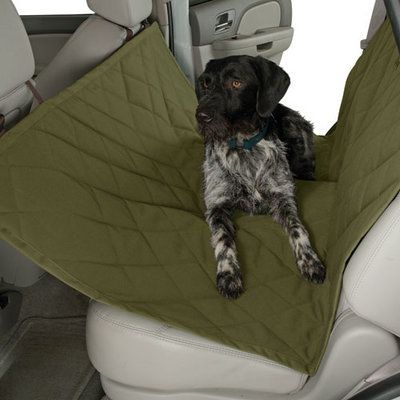 Rear Seat Protector for Dogs - Keeps your dog safe and your car clean! $64 at www.dogids.com