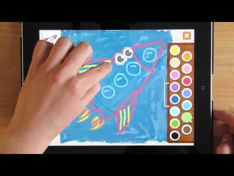 Memollow Coloring Pages - tutorial / part 3 In this video tutorial you will learn how to use outline coloring in Memollow Coloring Pages App :)