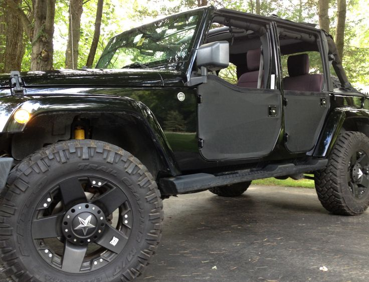 2007 Unlimited Blacked Out Jeep WranglersJeepsBlack