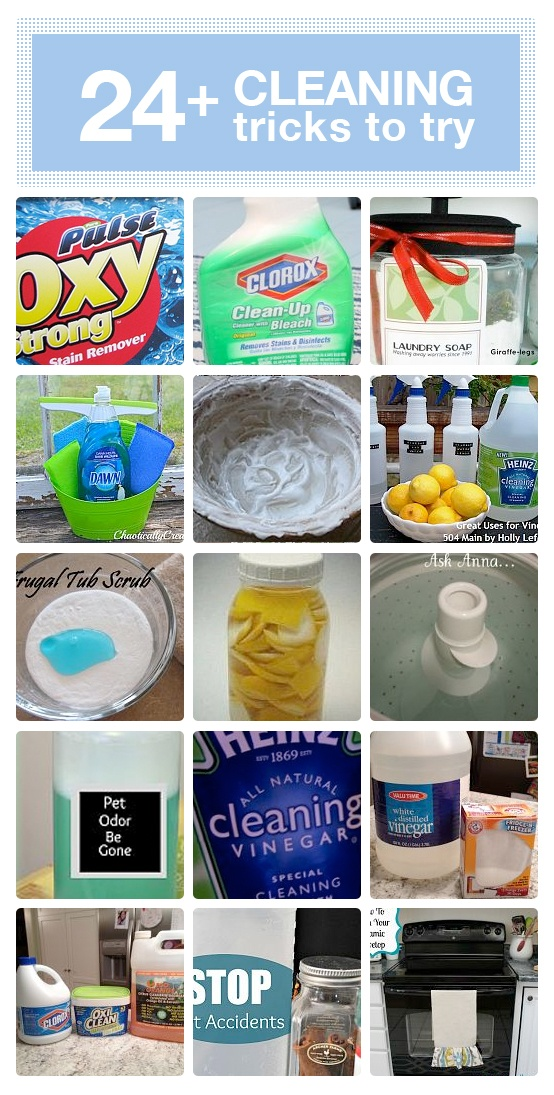 24 DIY cleaning trick that really work! | via Hometalk