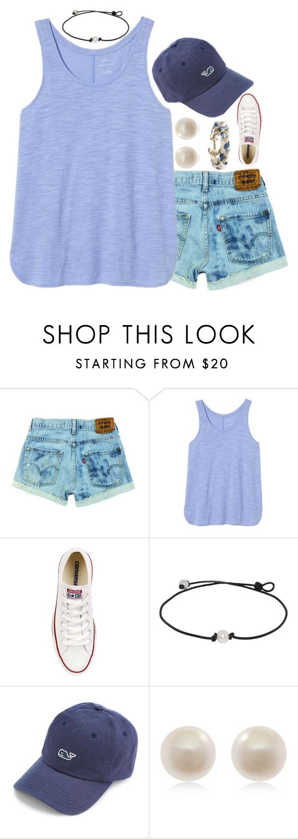 """""""My eyes baby they're fixed on you, in your snap back"""" by carolinaprep137 ❤ liked on Polyvore featuring Banana Republic, Converse, Vineyard Vines, Links of London and Brooks Brothers"""
