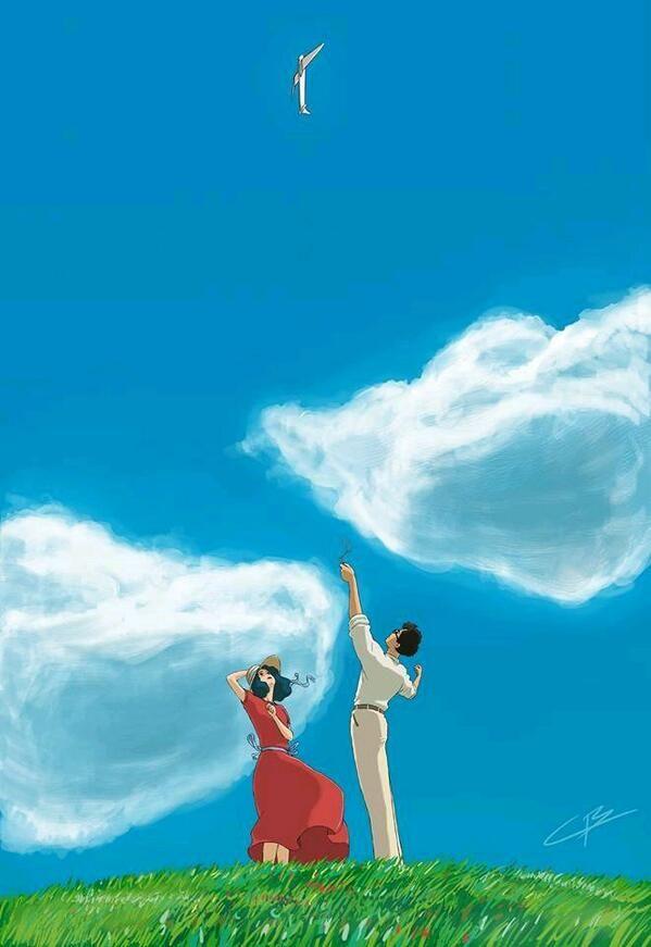 """""""le vent se lève, il faut tenter de vivre"""", Paul Valéry. Quel chef-d'oeuvre ce dernier et ultime Miyazaki"""