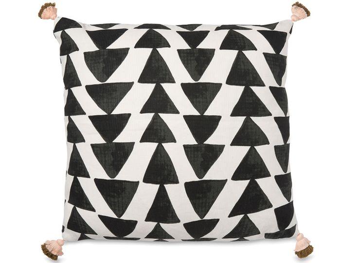 Arrow Cushion with Tassels