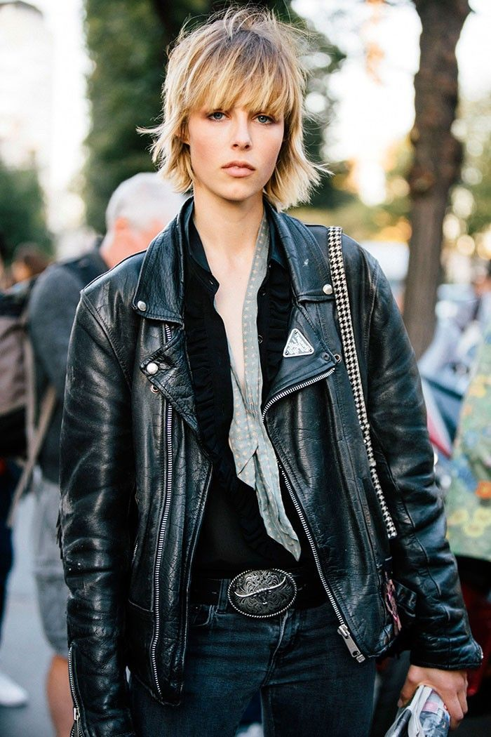 Edie Campbell Street Style in Paris Fashion Week S/S 2016