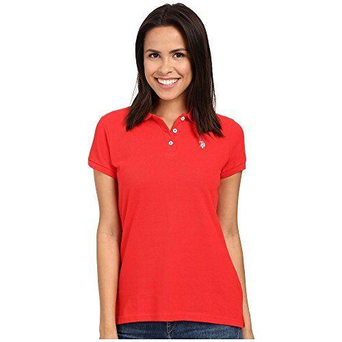 (ユーエスポロアソシエーション) U.S. POLO ASSN. レディース トップス 半袖シャツ Solid Pique Polo 並行輸入品  新品【取り寄せ商品のため、お届けまでに2週間前後かかります。】 表示サイズ表はすべて【参考サイズ】です。ご不明点はお問合せ下さい。 カラー:Tomato 詳細は http://brand-tsuhan.com/product/%e3%83%a6%e3%83%bc%e3%82%a8%e3%82%b9%e3%83%9d%e3%83%ad%e3%82%a2%e3%82%bd%e3%82%b7%e3%82%a8%e3%83%bc%e3%82%b7%e3%83%a7%e3%83%b3-u-s-polo-assn-%e3%83%ac%e3%83%87%e3%82%a3%e3%83%bc%e3%82%b9-%e3%83%88-5/